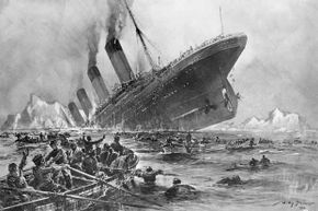 Eight musicians bravely played on while the Titanic sank.