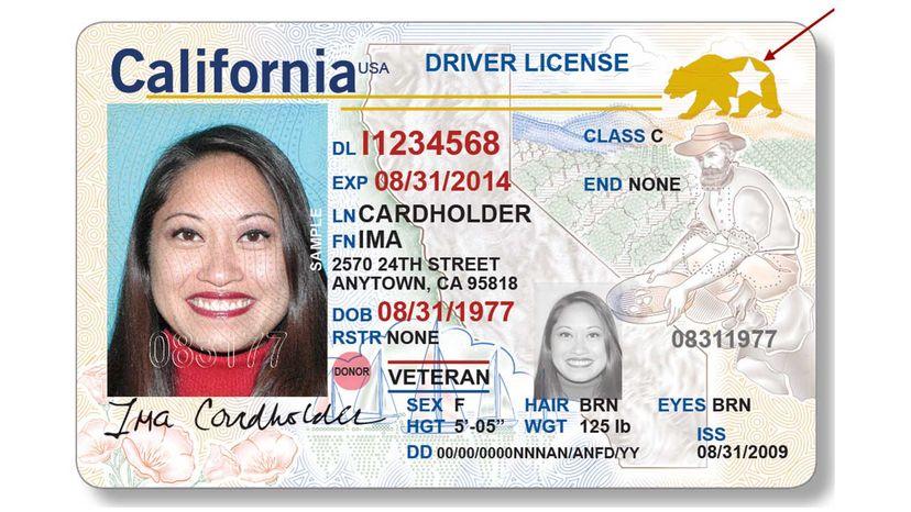 REAL ID California