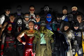 You might be surprised at just how many masked crime fighters are out there combatting injustice.