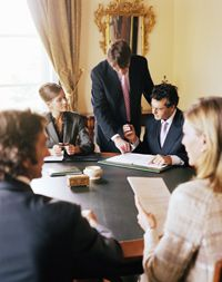 A Realtor must share part of his commission with his or her real estate firm or broker.