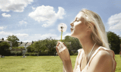 Turning your reality into dreams is like making a wish with a dandelion.