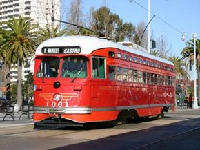 Trolley cars were among the first vehicles to use regenerative braking technology. Check out our brake pictures.