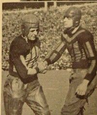 """Harold """"Red"""" Grange boosted the time sport. See more pictures of famous football players."""