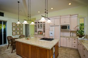 New lighting can have a dramatic effect on your kitchen.