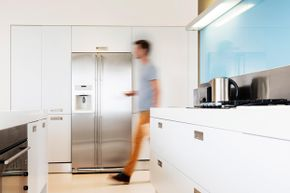 How would you deal with a refrigerator arriving on your doorstep with no installation plan?