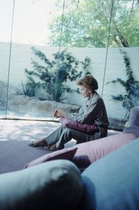 Betty Ford reflects at the rehab center she founded in Rancho Mirage, Calif.