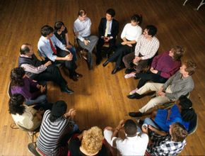 Studies have shown that 12-step groups have been proven to help curtail addictive behavior.