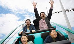 Can you relax on a roller coaster? Yes – here's how.