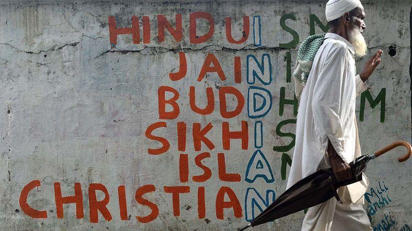 religions, graffiti