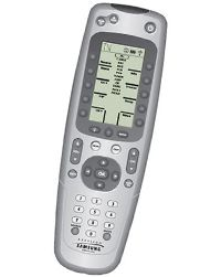 Samsung 12-device universal learning remote with LCD screen