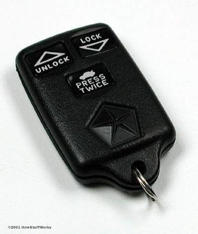 A remote entry key fob. See more car gadget pictures.
