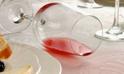Cry because you spilled the wine, not because you ruined your tablecloth.