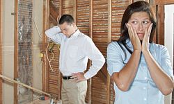 Home improvement projects are tough. Know your limits. See more home construction pictures.