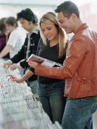 Consumers often buy remastered CDs or DVDs that feature classic movies or albums.