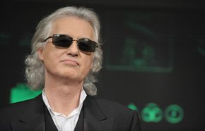 """Fans criticized Led Zeppelin's Jimmy Page for his remastering of their album, """"Mothership."""""""