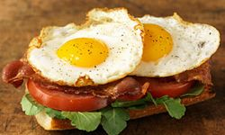 Add some eggs and have the classic BLT for any meal. See more easy weeknight meals pictures.