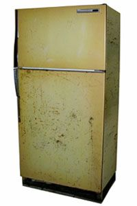 You could replace that old fridge by renting to own a new one.