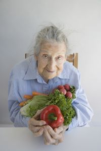 Veggies are a staple of a calorie restricted diet.