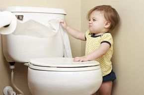 It's not a good idea to pull off more paper than you need! What else is bad bathroom etiquette?