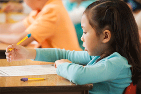 The difference between kindergarten and first grade has more to do with skills than age.
