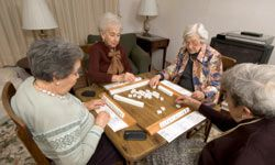 Consider a retirement community, which often offers social activities with other retirees.