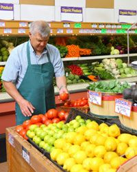Many retirees take part-time jobs to supplement their income.