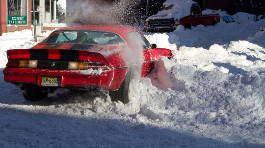 How Retractable-stud Snow Tires Work