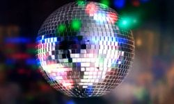 Nothing says disco like a shiny, spinning ball.