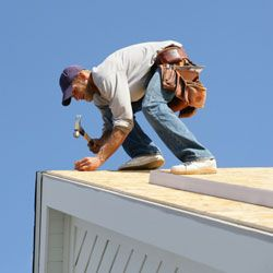 Until a professional can repair your roof, cardboard can keep leaks at bay.