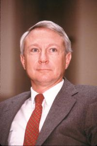 Edward Aldridge, shown in a 1987 photo when he was secretary of the Air Force and before he entered the Revolving Door into the private sector.