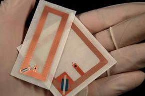 RFID tags like these used to be made only for tracking luggage and large parcels.