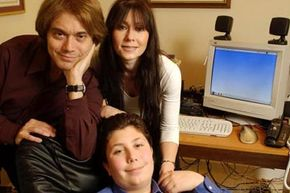 The Jacobs family of Boca Raton, Fla. served as early subjects for VeriChip implants. In 2002, Jeffrey, Leslie and their son Derek were chipped.