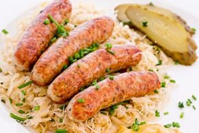 Bratwurst is rich in choline, which helps build cells in the brain and heart. But, don't over-do it.