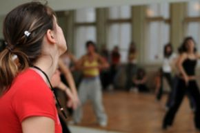 Any dance routine class is a big step in maintaining your overall fitness. Get moving!