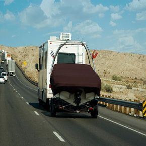 Rigid A-frame tow bars are a good option for vacationers.