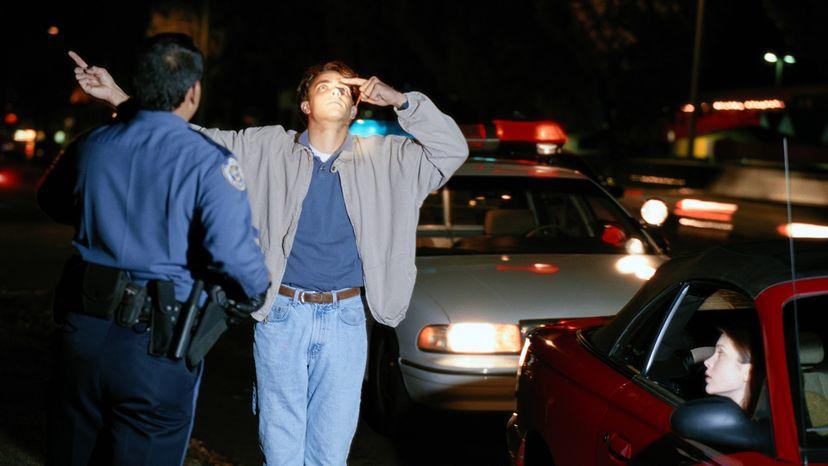 DUI sobriety check