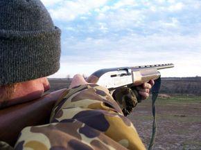 Hunting Season, Hunter Hunting Duck, South Dakota