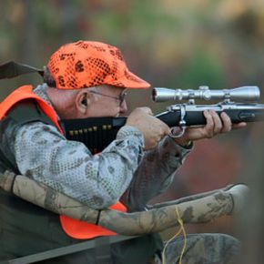 Rifle scopes magnify your vision, making it easier to aim at distant targets.
