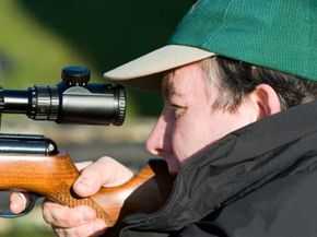 Eye relief refers to the distance from a shooter's eye to the scope's eyepiece.