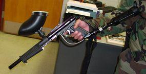 Pepperball gun