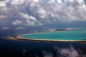 Unfortunately the island nation of Kiribati probably won't exist if sea levels rise by 12 inches (30 centimeters).