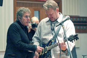 There's not a music lover among us who wouldn't dream of having The Who's Roger Daltrey give him pointers on guitar.