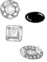 There are many types of birthstones.