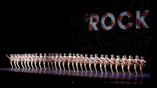 A High-stepping History of the Rockettes