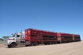 Drivers average about 21 hours at a stretch behind the wheel, though the Australian Road Train Association (ARTA) frowns heavily on this. In fact, ARTA recommend just 14 hours per day, at most.