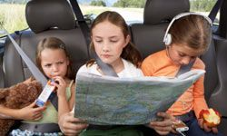 Map-based games can teach your children map-reading and geography skills.