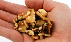 If you're craving something salty and crunchy, pop open a container of nuts.