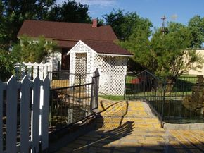 Dorothy's House was designated in 1981 by the town of Liberal, Kansas, as the house of The Wizard of Oz's Dorothy Gale.