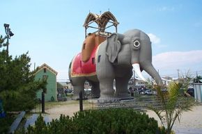 Originally built as a real estate promotion, Lucy the Elephant has since been a summer home, bar, and hotel.