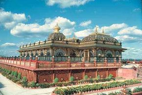 Famous Landmarks Image Gallery Prabhupada's Palace of Gold in New Vrindaban, West Virginia. See more pictures of famous landmarks.